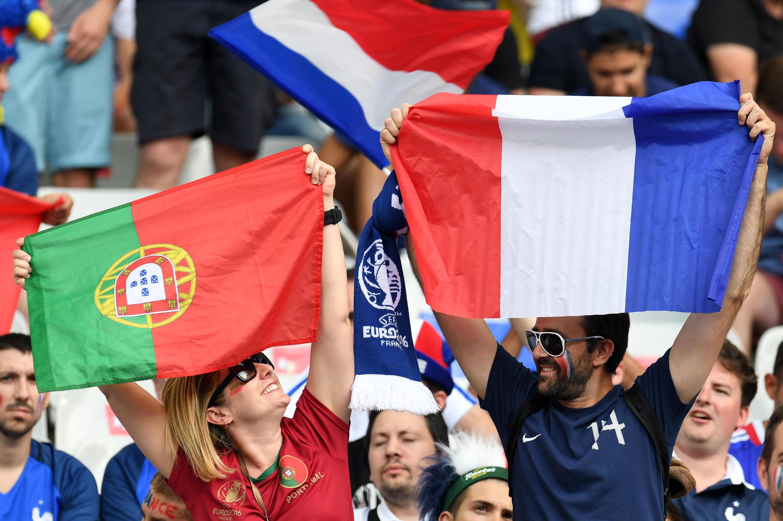 За чемпионский титул португальцы в финале Евро-2016   сражались именно с французами