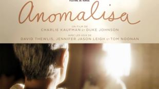 L'affiche d'<i>«Anomalisa», </i>un film d'animation signé par les deux réalisateurs américains Duke Johnson et Charlie Kaufman.