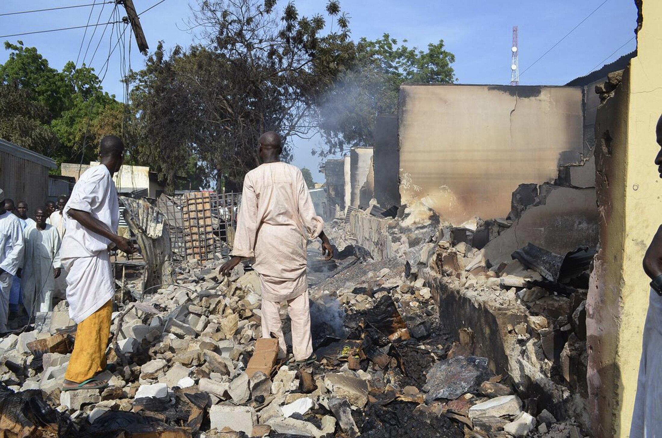 Wani hari da Boko Haram ta kai a garin Benisheik a Jahar Borno a Najeriya
