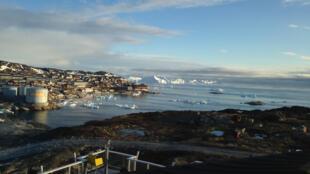 Ilulissat, ville la plus touristique du Groënland.