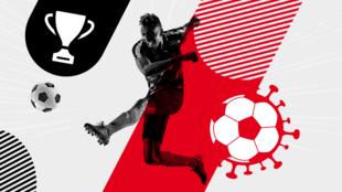 """O diário esportivo L'Équipe é enfático em sua chamada: """"Quatro jogadores do Atlético Goianiense testam positivo, mas podem jogar""""."""