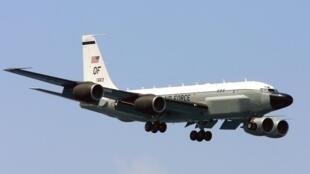 美軍偵察機再度飛臨朝鮮半島上空。