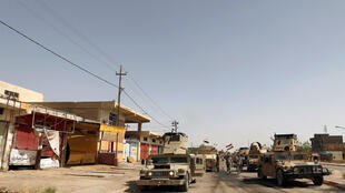 """مرکز شهر """"فلوجه"""" در تصرف ارتش عراق. ٢٨ خرداد/ ١٧ ژوئن ٢٠۱۶"""