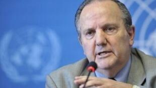 Juan Mendez, rapporteur spécial de l'ONU sur la torture.