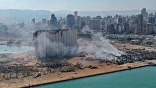 Beirut's port was left devastated by a massive blast on August 4