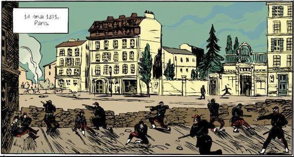Illustration du livre «Ni dieu, ni maître, Auguste Blanqui l'enfermé» de Maximilien Le Roy.