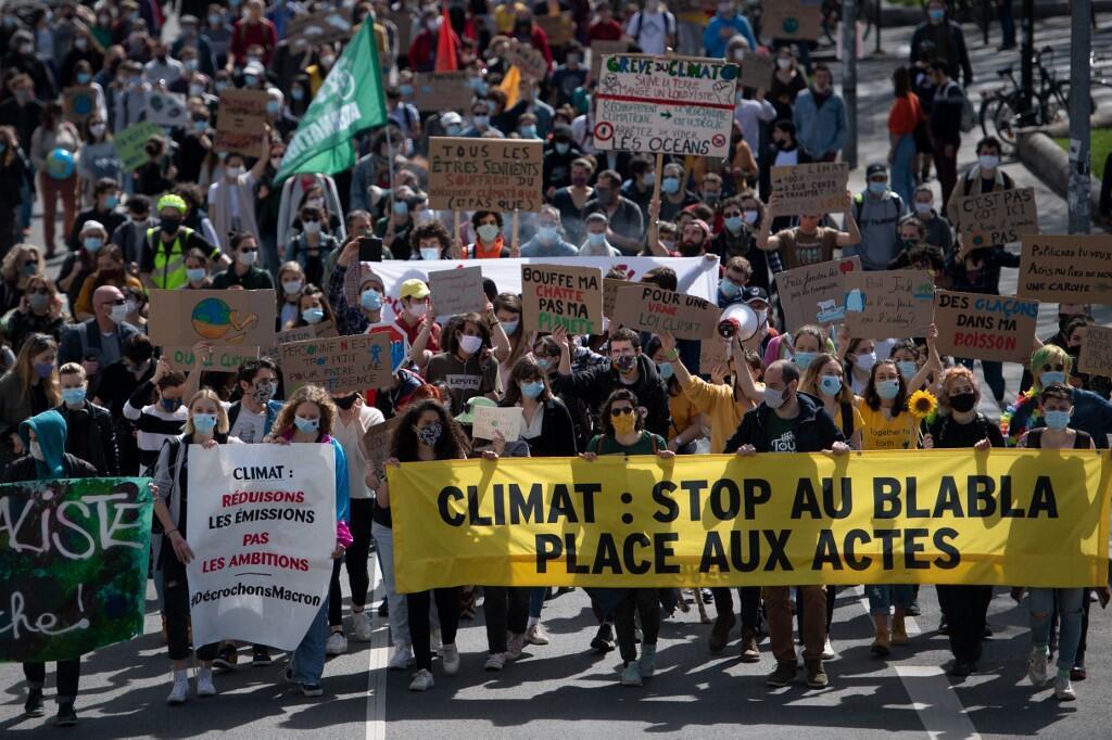 Marche pour le climat à Paris