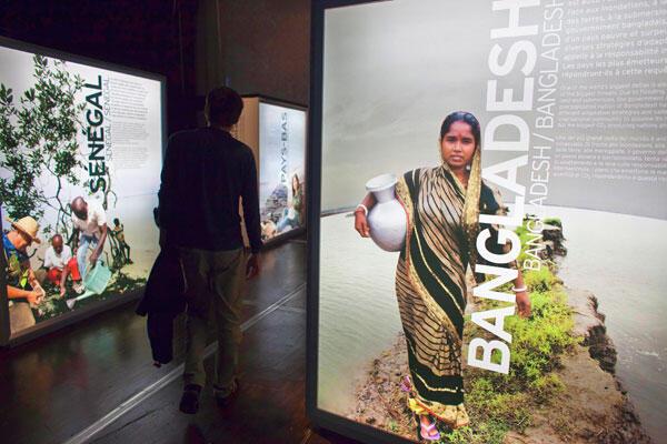 Carnet de voyage à travers six regards de différents coins du monde