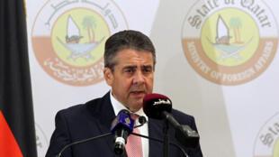 O ministro alemão do Exterior, Sigmar Gabriel