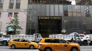 Tòa nhà Trump Tower, tổng hành dinh của tập đoàn Trump Organization tại New York. Ảnh chụp ngày 14/08/2017.