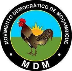 Logótipo do Movimento Democrático de Moçambique (MDM)