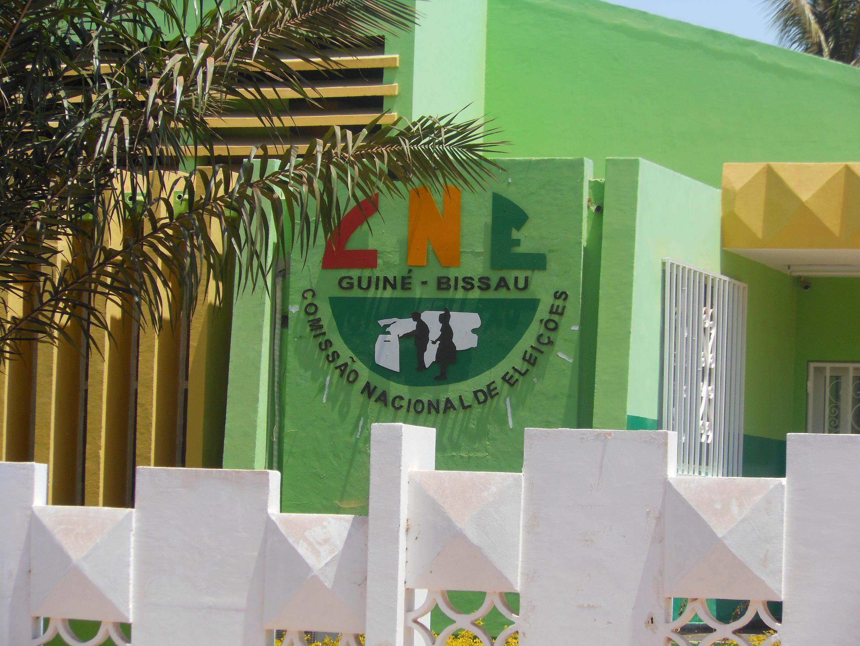 Sede da Comissão Nacional de Eleições, na cidade de Bissau.