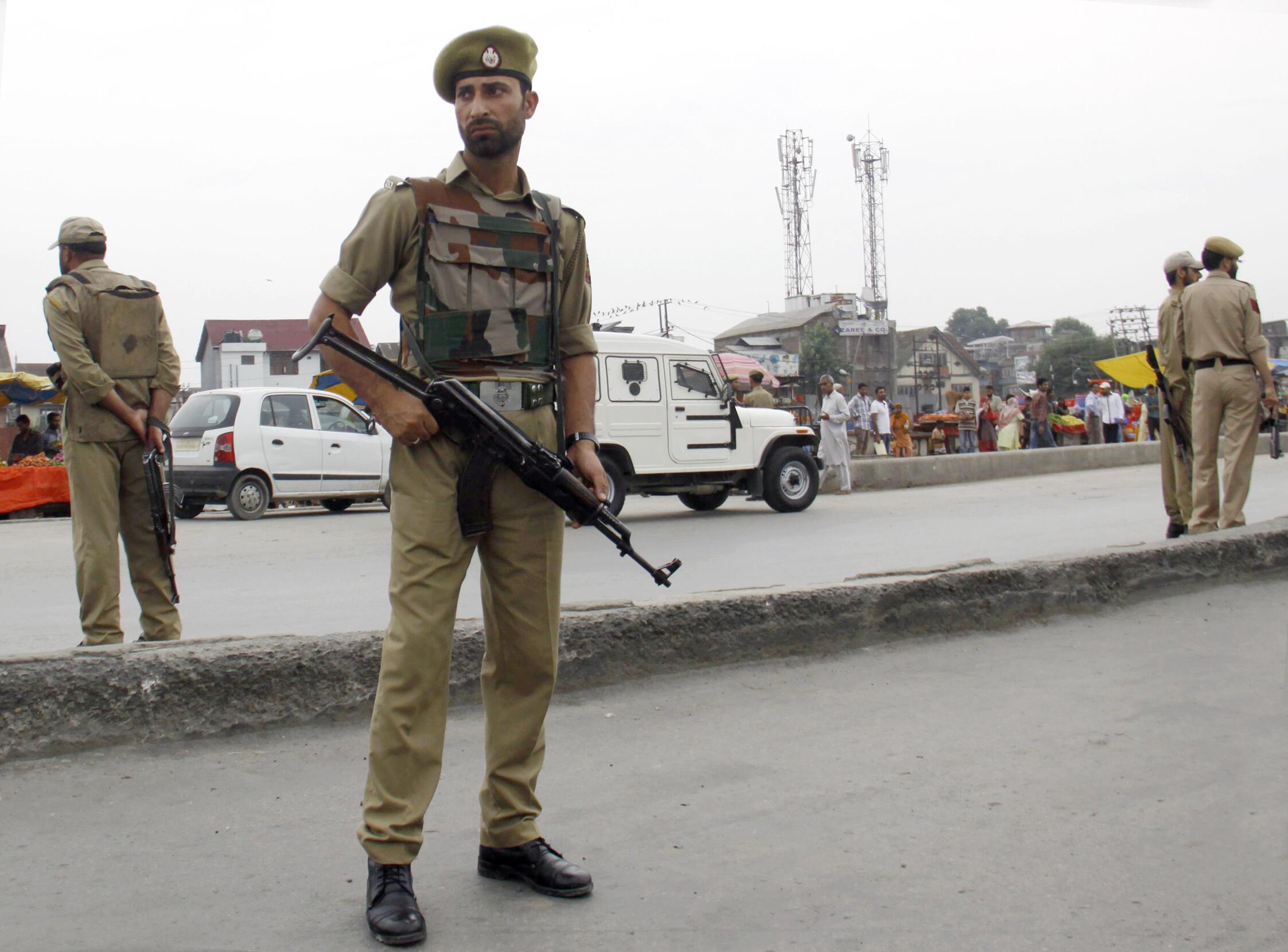 Militaires indiens.