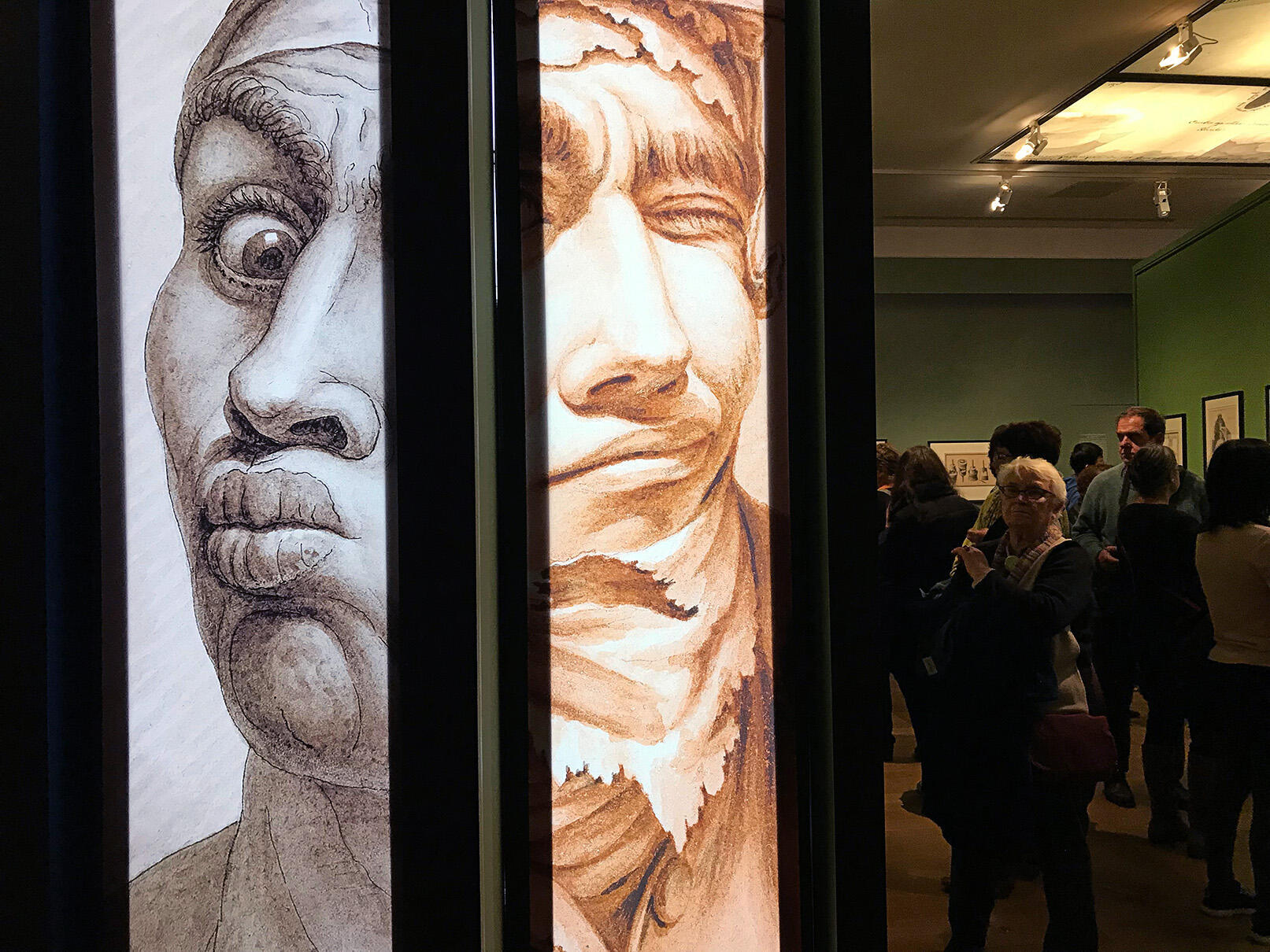 На выставке «Жан-Жак Лекё, зодчий фантазмов» в Малом дворце