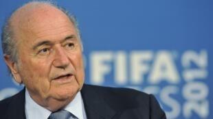 Shugaban hukumar kwallon kafa ta duniya FIFA, Sepp Blatter