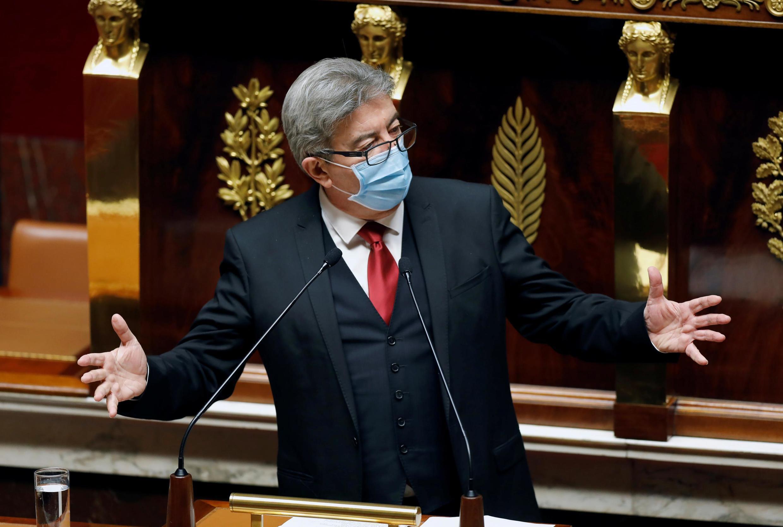 Jean-Luc Mélenchon, candidat à l'élection présidentielle de 2022.