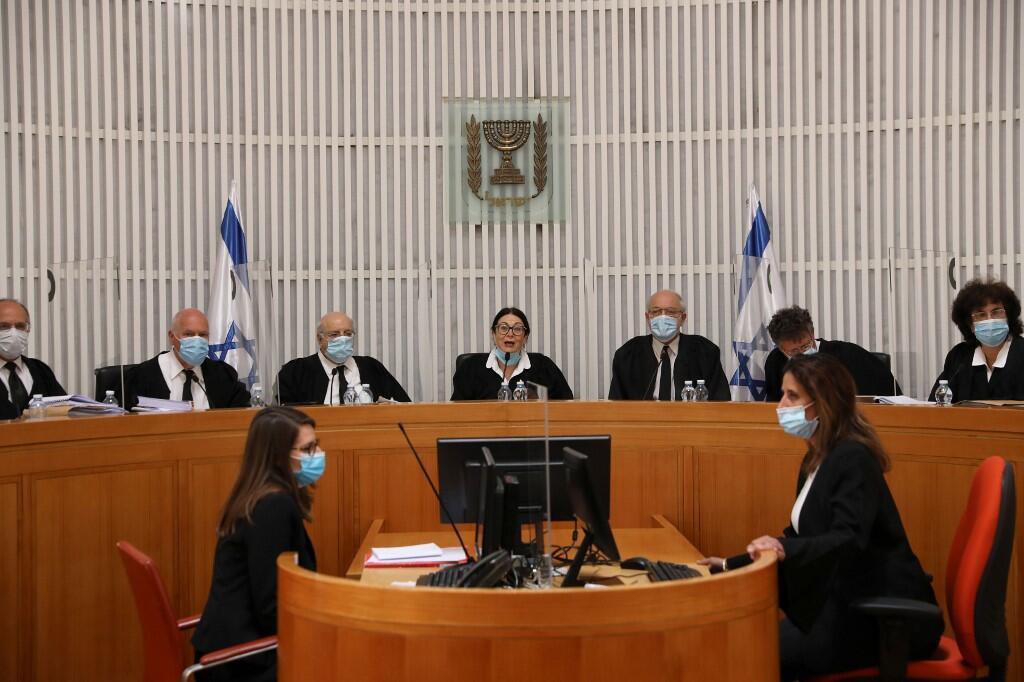 Juízes da Suprema Corte de Israel. 04/05/2020.