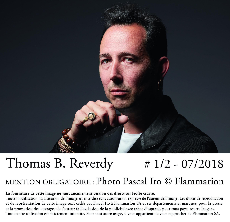 Portrait de l'écrivain Thomas B. Reverdy à l'occasion de la sortie de son livre «L'hiver du mécontentement».