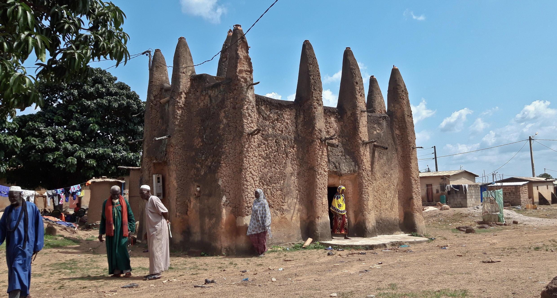 Côte d'Ivoire - La mosquée de style soudanais de M'Bengue