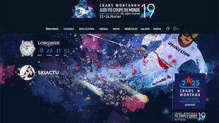 L'horlogerie suisse s'en mêle les chronomètres et a provoqué une belle pagaille lors des épreuves de Coupe du monde de ski à Crans-Montana (capture d'écran).