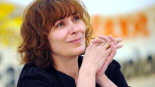 """La periodista y directora del documental """"El Mundo según Monsanto"""", Marie-Christine Robin, aquí en 2008."""