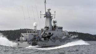 Tàu tuần duyên Thụy Điển ngoài khơi Stockholm - Reuters