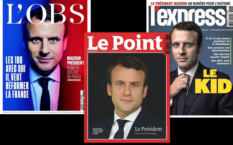 Destaque na imprensa francesa para a fascinante trajetória do novo presidnete francês Macron.