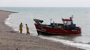 Retour de pêche à Hastings en Angleterre, le 9 mai 2016. Le Royaume-Uni est autosuffisant à 80 % pour les produits de la mer. (Image d'illustration)