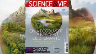 """Couverture """"Science & vie"""" n° 1233 """"On a découvert le berceau de l'humanité""""."""
