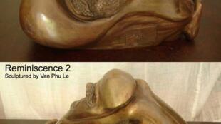 """Tác phẩm điêu khắc """"Hồi Tưởng"""" của Lê Phú"""