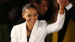 Marina Silva, do PSB.