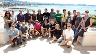 Parte dos jurados do Festival de Publicidade de Cannes.