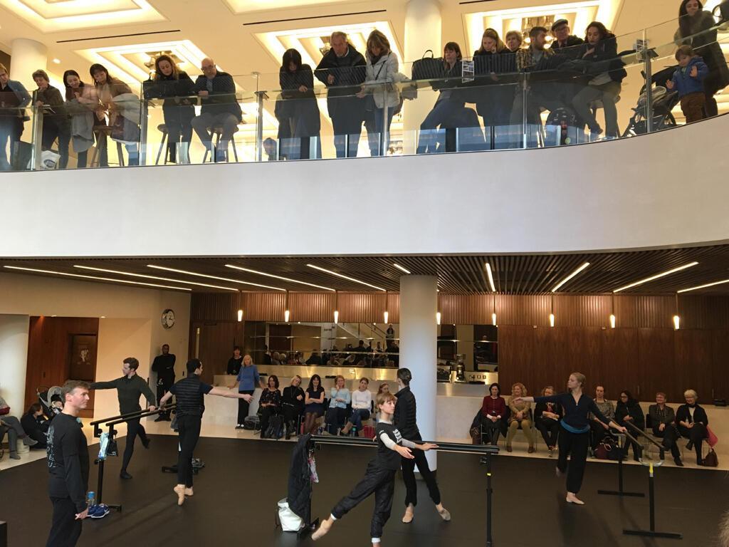 Des répétitions à l'opéra ouvertes au public, pendant la pause déjeuner.