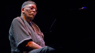 Randy Weston, en concert au Festival Jazz à La Villette, le 5 septembre 2011, à la Cité de la Musique, à Paris.