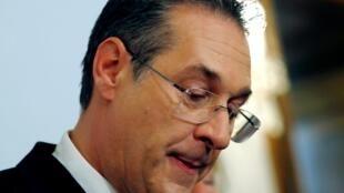 奧地利副總理斯特拉赫被揭發涉貪腐醜聞宣布辭職。