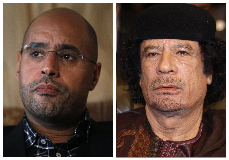 Kadhafi da Dan shi Saif el Islam