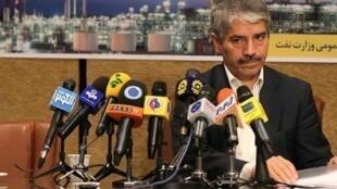 احمد قلعه بانی، مديرعامل شركت ملی نفت جمهوری اسلامی ایران