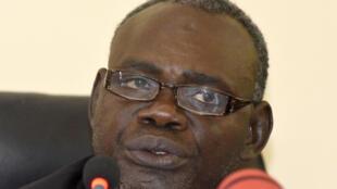Clément Abaïfouta, fondateur de l'Association des victimes du régime d'Hissène Habré.
