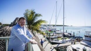 El empresario norteamericano Brian Hall planifica establecer una ruta de ferry entre Marathon (Florida) y La Habana, 20 de febrero de 2015.