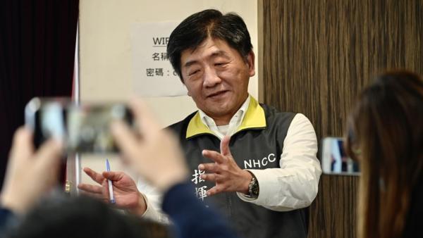 Le ministre de la Santé taïwanais Chen Shih-chung est devenue une personnalité publique incontournable dans la lutte contre l'épidemie.
