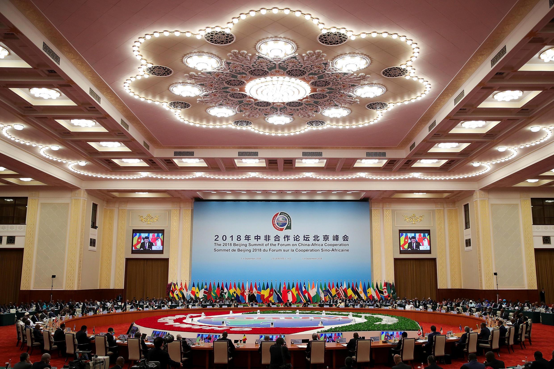 """Ngày họp thứ hai của thượng đỉnh """"Diễn đàn Hợp tác Trung Quốc - Châu Phi"""" lần thứ 7 tại Bắc Kinh, ngày 04/09/2018."""