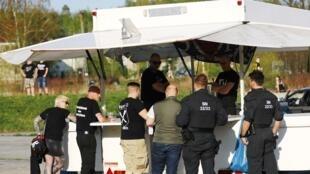 Des centaines de néonazis se sont retrouvés à Ostritz pour le festival Bouclier et épée.