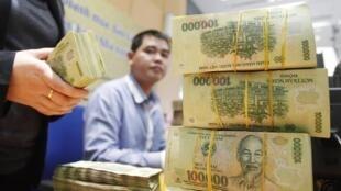 Theo Ngân hàng Thế giới, tăng trưởng của Việt Nam năm 2014 sẽ vẫn ở mức 5,4% - REUTERS /Kham
