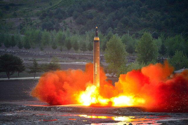 Ракетное испытание в КНДР 14 мая 207