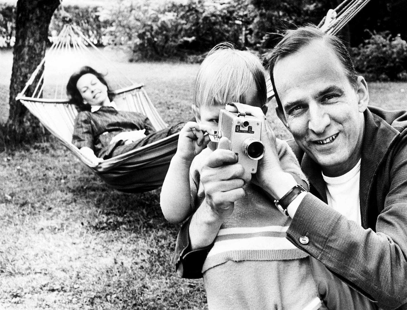 Extrait du documentaire À la recherche d'Ingmar Bergman, réalisé par Margarethe von Trotta.