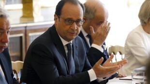 Shugaban kasar Faransa Francois Hollande