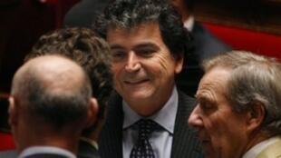 Le député français Pierre Lellouche a été choisi comme représentant spécial de la France pour l'Afghanistan et le Pakistan, le 3 mars 2009.
