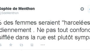 Un tweet qui fait tache face à un rapport sur le harcèlement.