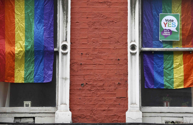 Campanha pelo aprovação do casamento gay no referendo da Irlanda.