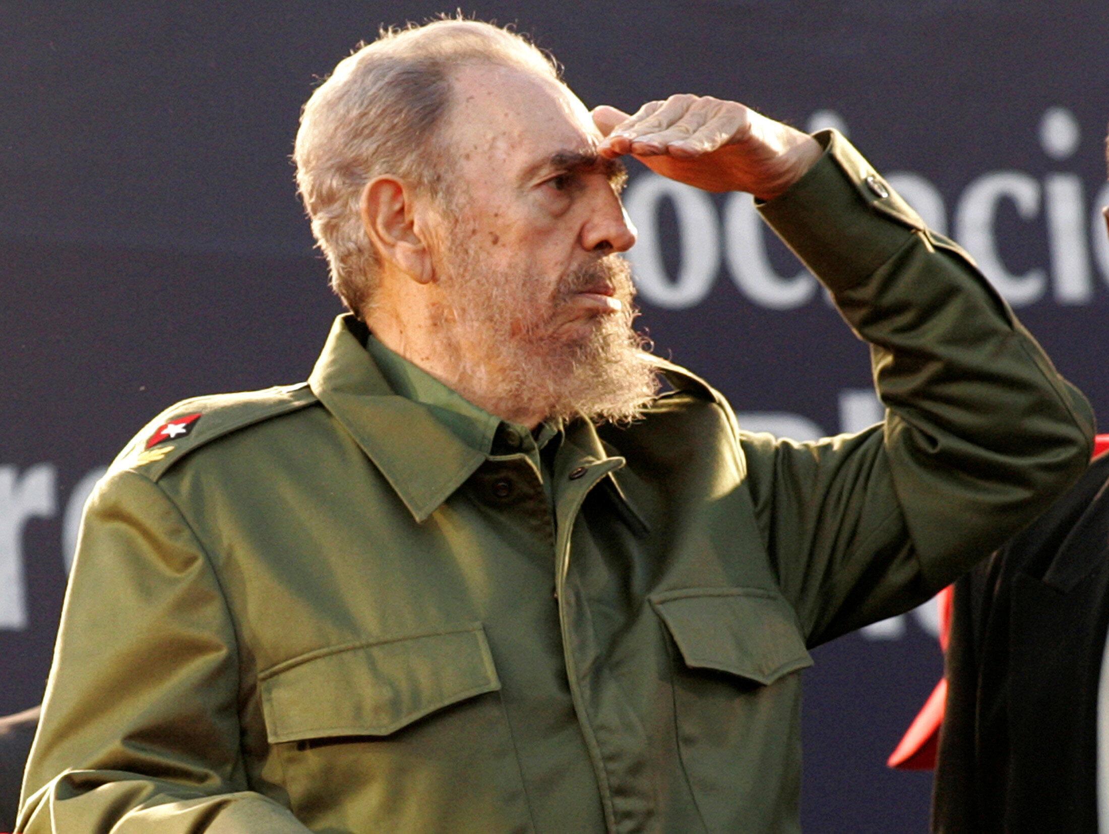 Fidel Castro, Mwanamapinduzi wa Cuba, hapa akiwa nchini Argentina, Julai 21, 2006.